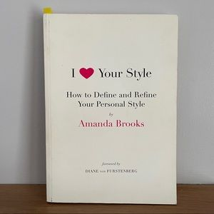 Coffee table fashion book: I Love Your Style
